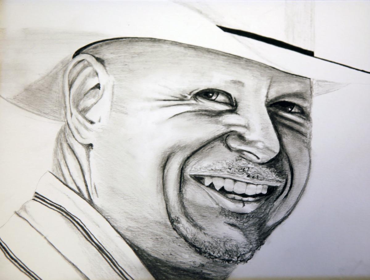 Pencil Sketch by Mike Lee