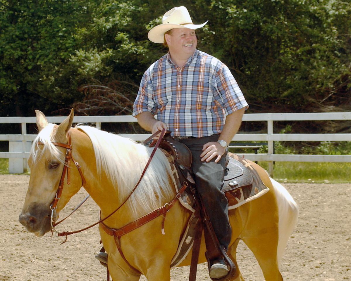 My horse, Cutter